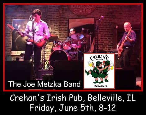 Joe Metzka Band 6-5-15