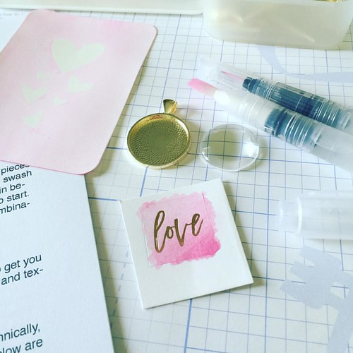 Prepping my watercolor class and loving the creativity I am able to express. #closetomyheart #closetomyheartalways #closetomyheartconsultant | by Scrappy Britches