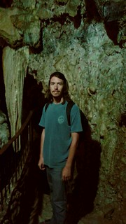 Kyle Inside Kadisha Grotto