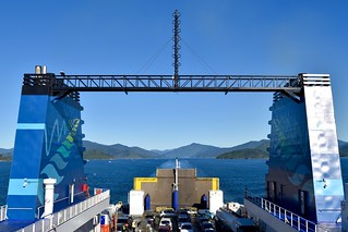 Leaving South Island on the Interislander | by ndimmock
