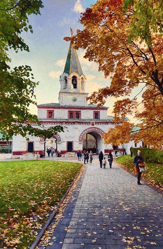 Kolomenskoye, Moscow, Russia