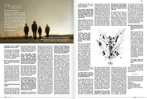 Screenshot - Phase article - Burst Magazine | by alexis marcou
