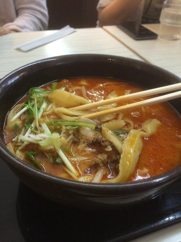 TOKYO AIRPORT RESTRANT 刃削麺