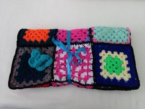 1057 'Club Sandwich' - Thank you to the 'Crochet Club'.