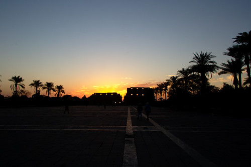 Sunrise Above Karnak