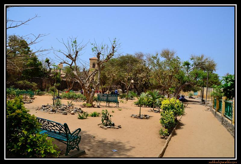Goree Island - Public Garden