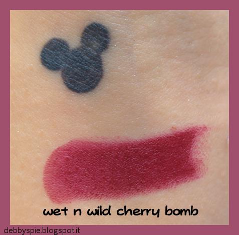 wet n wild cherry bomb
