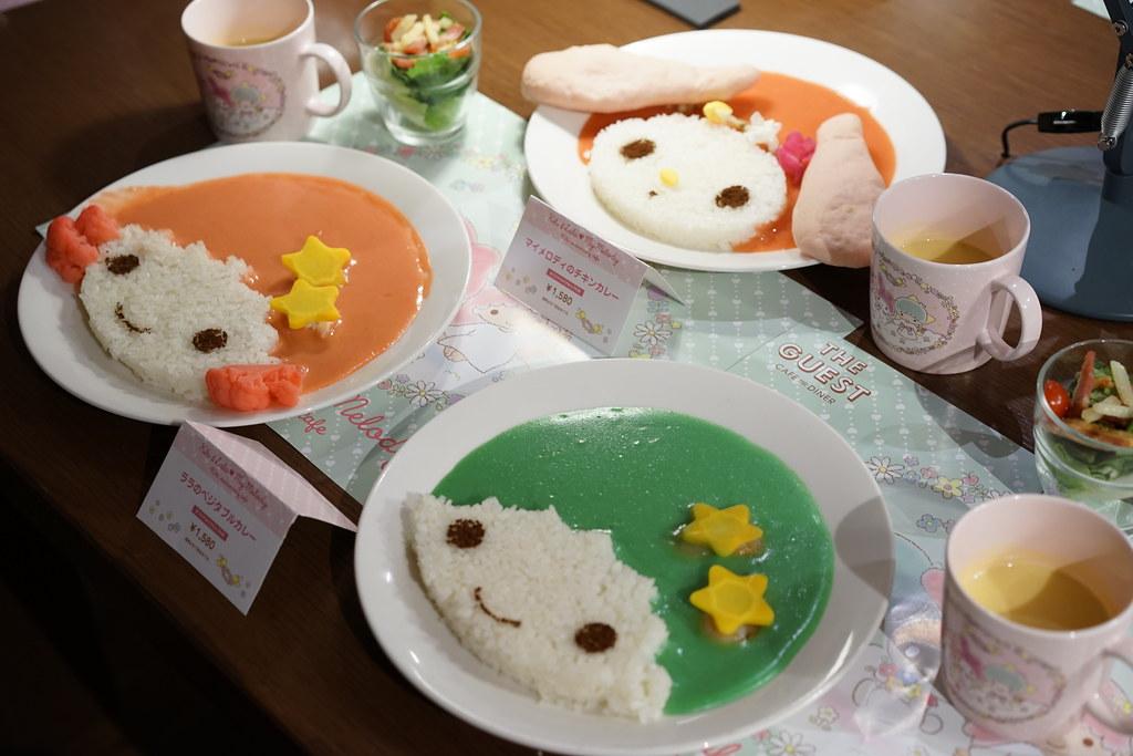 Kiki & Lala ❤ My Melody 40th anniversary cafe_7