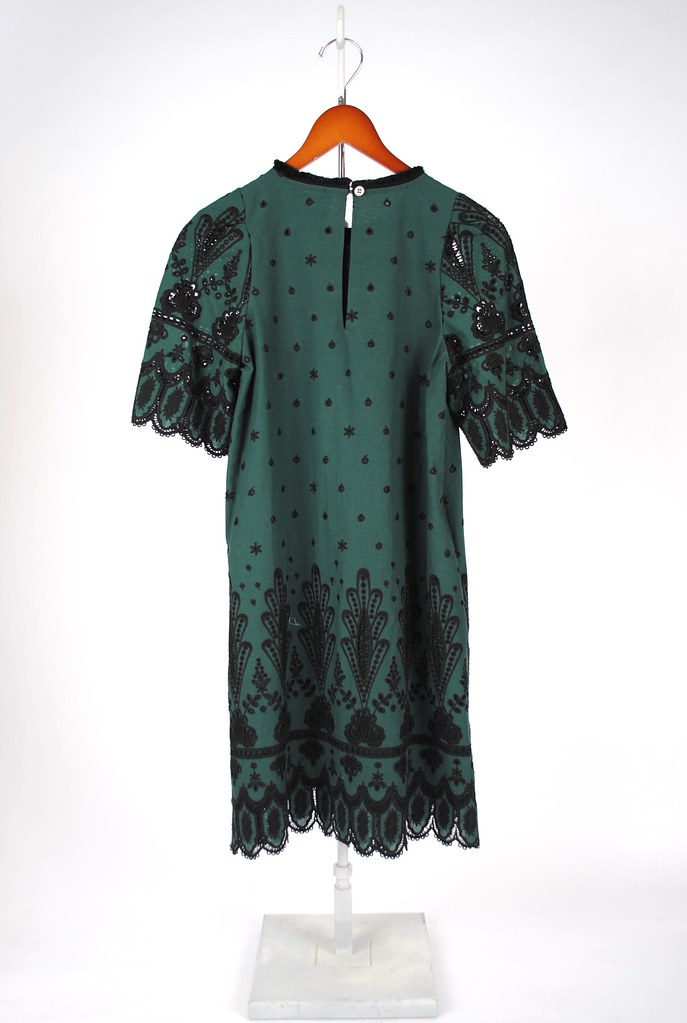 SEA Embroidered T-Shirt Dress