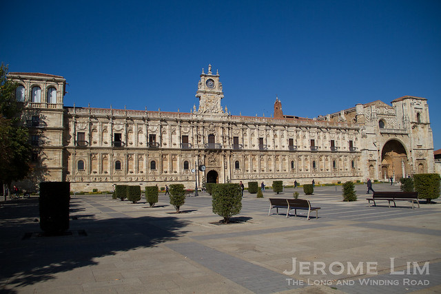 Parador Hostal de San Marcos in León, built in the 16th century as a military building.