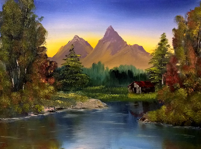 Did This Following Bob Ross