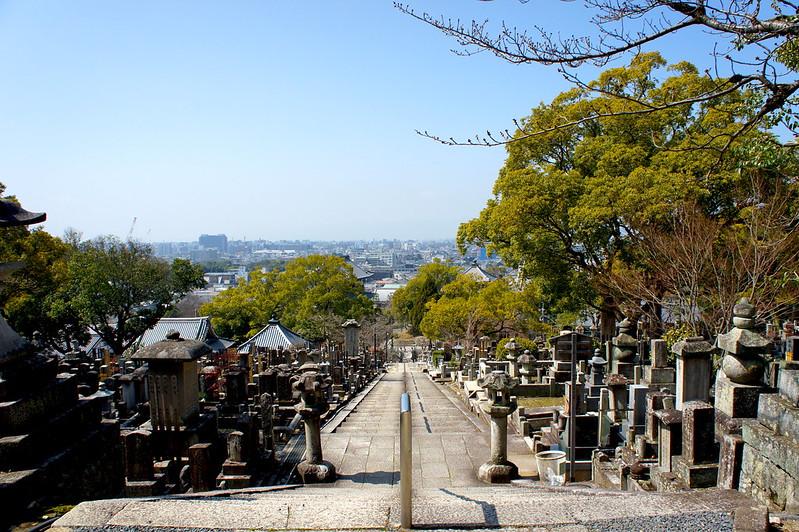 三重塔から見る風景/金戒光明寺(Konkai Komyo-ji Temple / Kyoto City) 2015/03/17