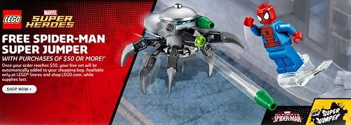 LEGO Marvel Super Heroes Spider-Man Super Jumper (30305)