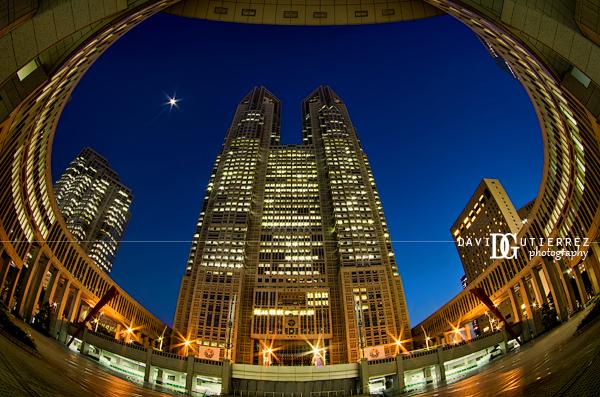 """Tokyo Metropolitan Government Building"", Shinjuku, Tokyo, Japan - David Gutierrez Photography, London photographer"