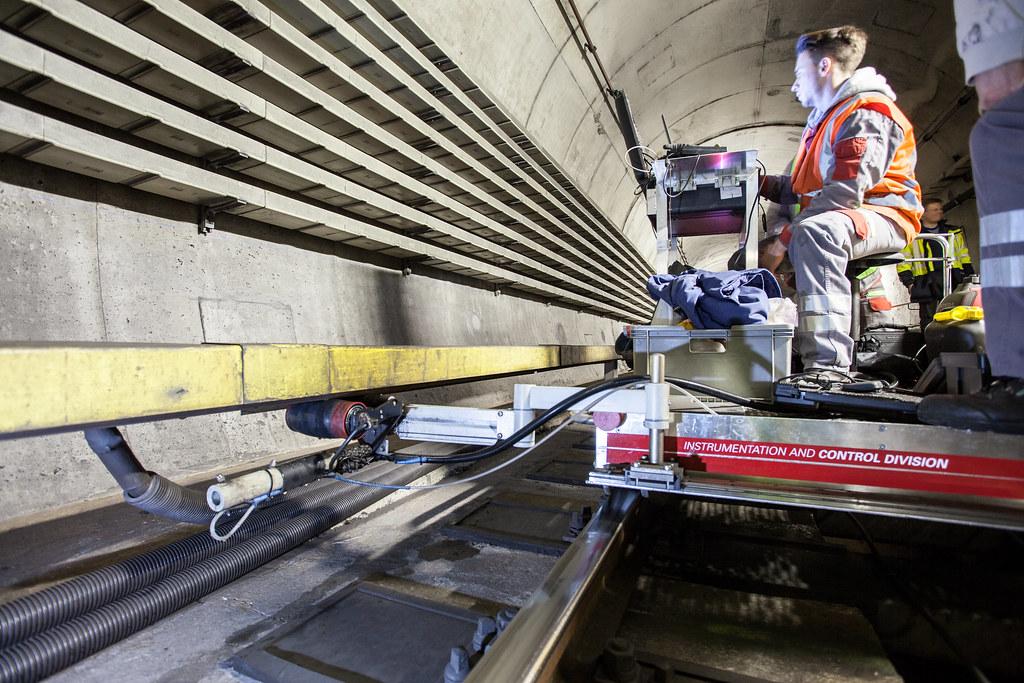 NDT | material testing underground vienna
