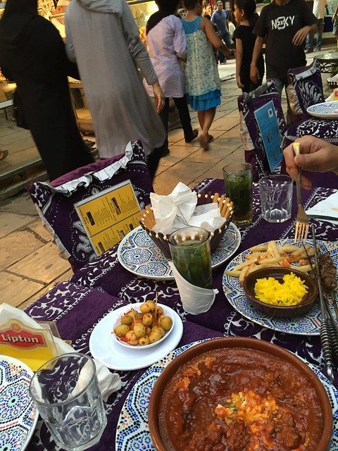 iphone photo 858: Ordinary dinner. Old medina of Fes (Morocco), 16 Aug 2016