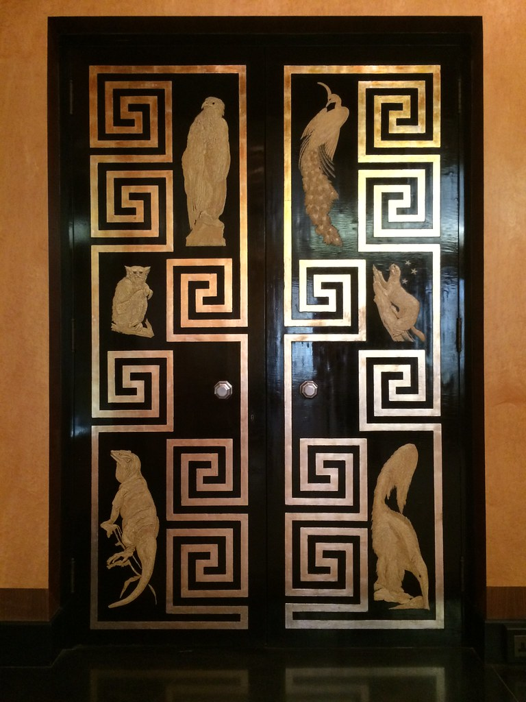 ... art deco doors of dining room at Eltham Palace | by d0gwalker & art deco doors of dining room at Eltham Palace | The doors s\u2026 | Flickr