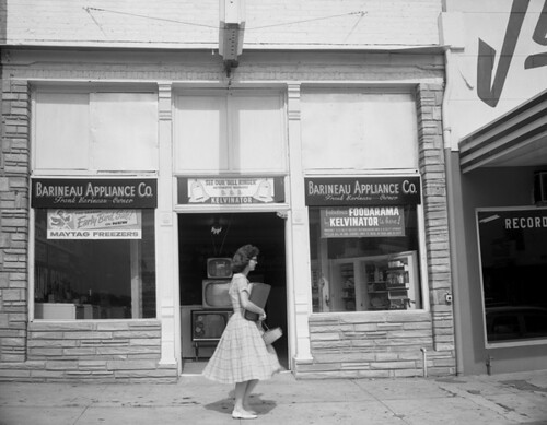 Barineau Appliance Co. on Adams St. in Tallahassee | by State Library and Archives of Florida