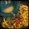 #homemade #rapini w/ #SundriedTo #CucinaDelloZio - s&p and lemon juice