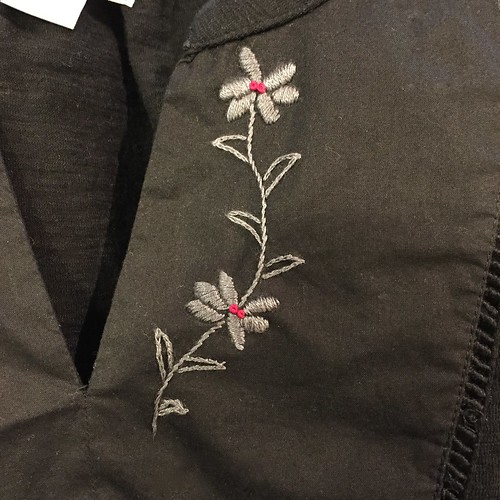 Iron Craft '15 Challenge #10 - Embroidered Embellish Tunic
