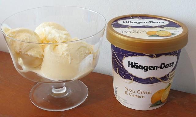 Häagen-Dazs Yuzu Citrus & Cream