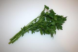 13 - Zutat Petersilie / Ingredient parsley