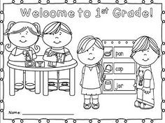 First Grade Coloring Pages | via Free Coloring Pages ift.tt/… | Flickr