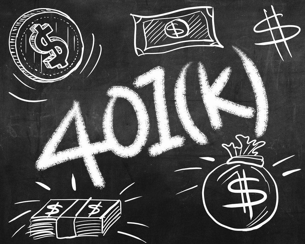 401 k chalkboard 401 k chalkboard dollar signs image by flickr