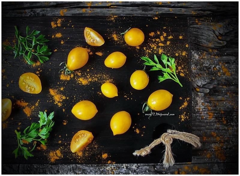 ...yellow cherry tomatoes