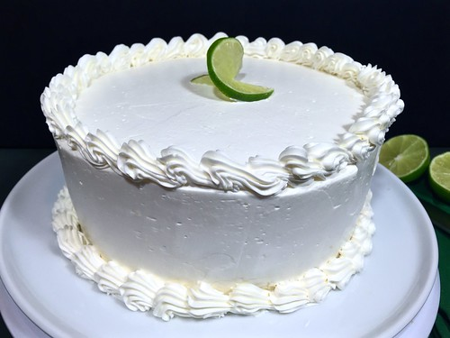 ginger key lime chiffon cake