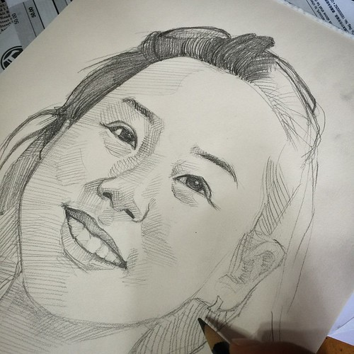 Back to pencil on paper....