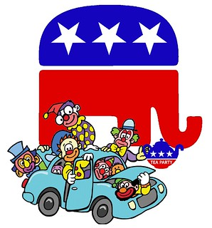 GOP Clown Car Careens Towards the Center Ring