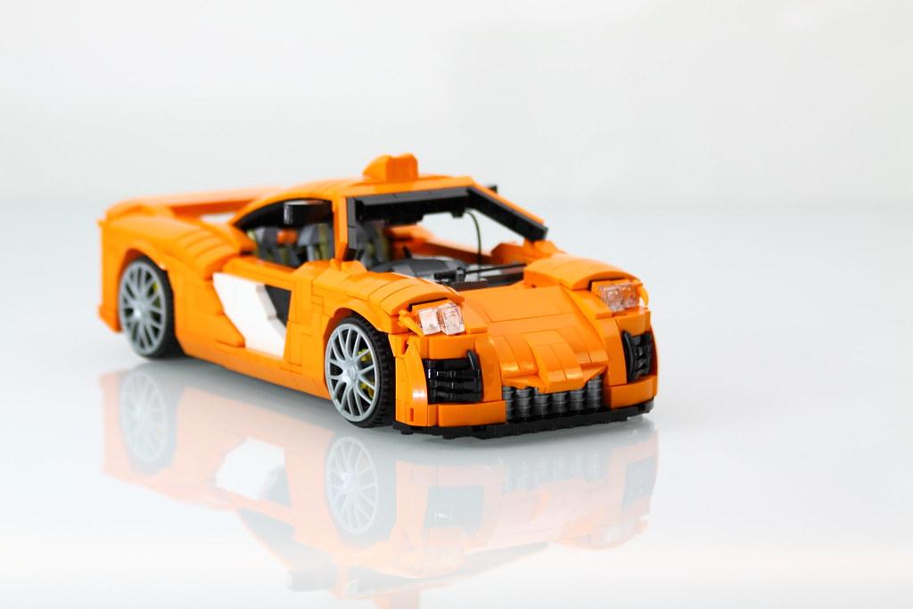 Speed Champions Mclaren Road Car