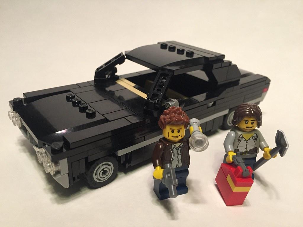 Impala 1967 black chevrolet impala : Lego Supernatural 1967 Chevy Impala 'Baby' | Saving people, … | Flickr