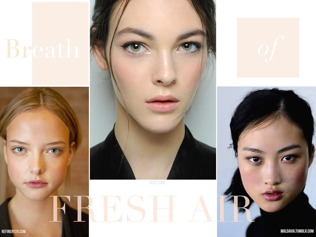 dior nude air fondation looks