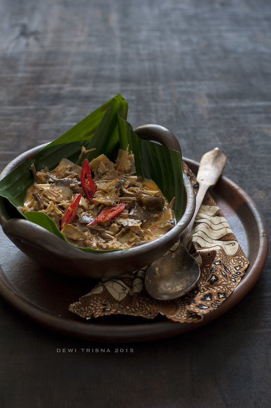 banana flowers curry