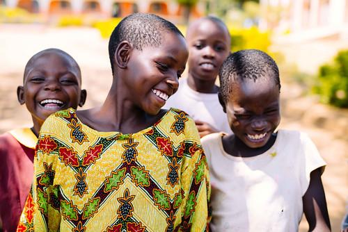 Uganda: Children enjoying new orphan home; further improvements, security planned
