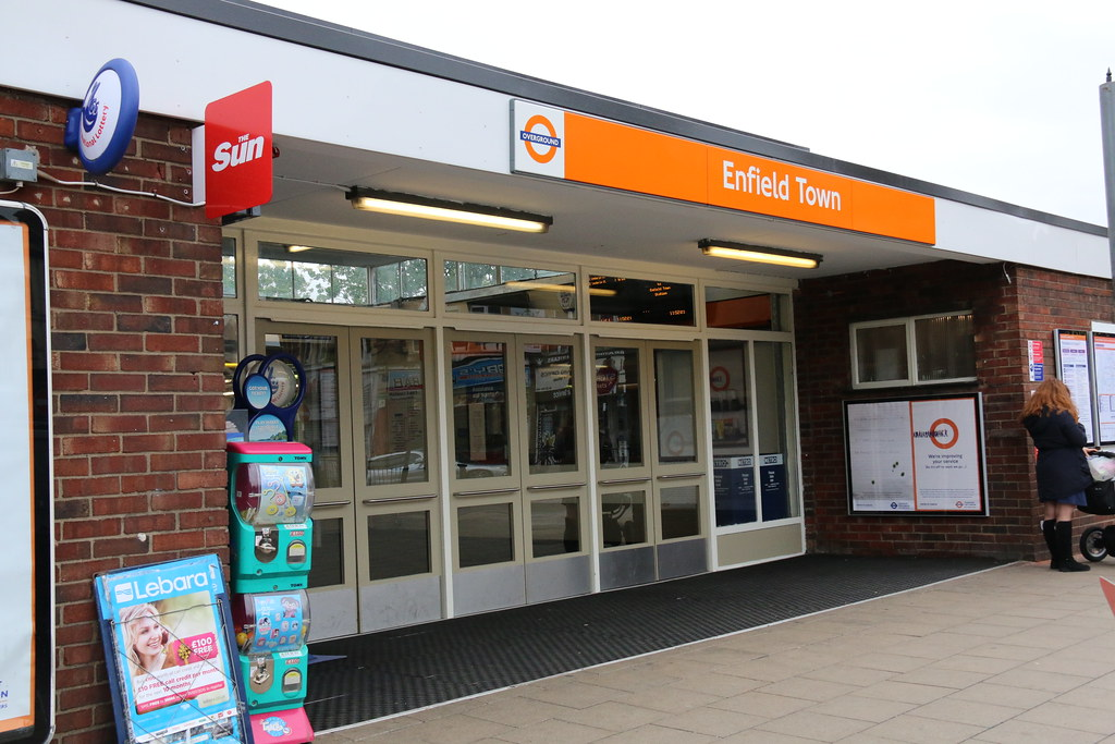 Enfield Town Overground Enfield Town Station Now