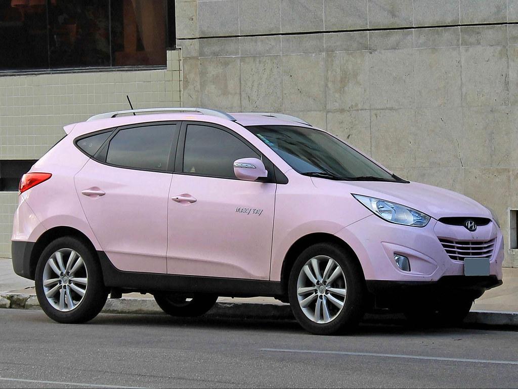 Modern crossover Hyundai IX35 from the Korean automaker