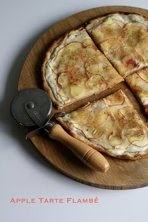 apple tarte flambé | by awhiskandaspoon