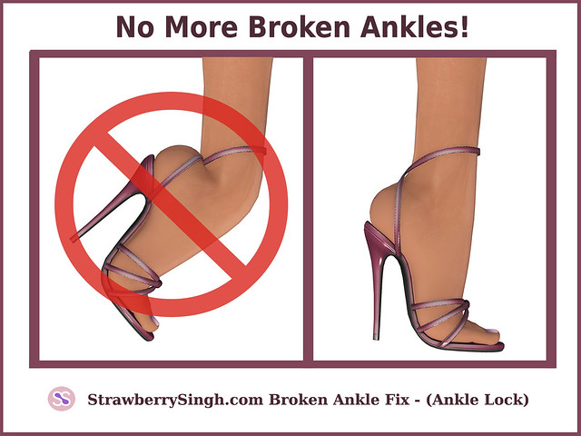 FREE Broken Ankle Fix - Ankle Lock