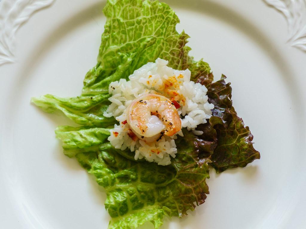 Kocheejang and Shrimp