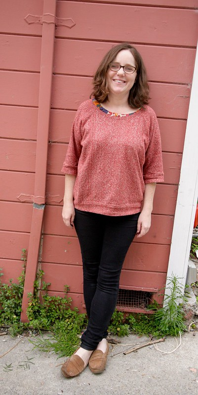 Linden Sweatshirt and Lisette Top