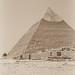 At the Pyramid of Khafre (alternate #1), Giza, Egypt 2015