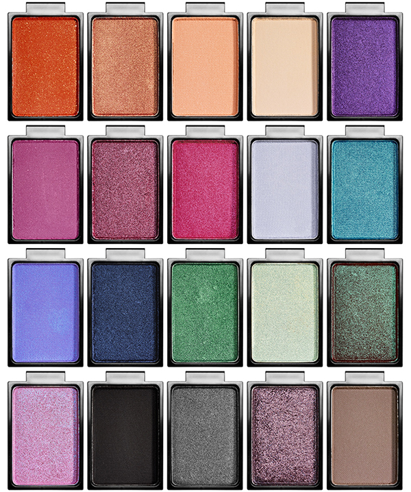 Buxom Eyeshadow Bar Singles and Palettes for Summer 2015