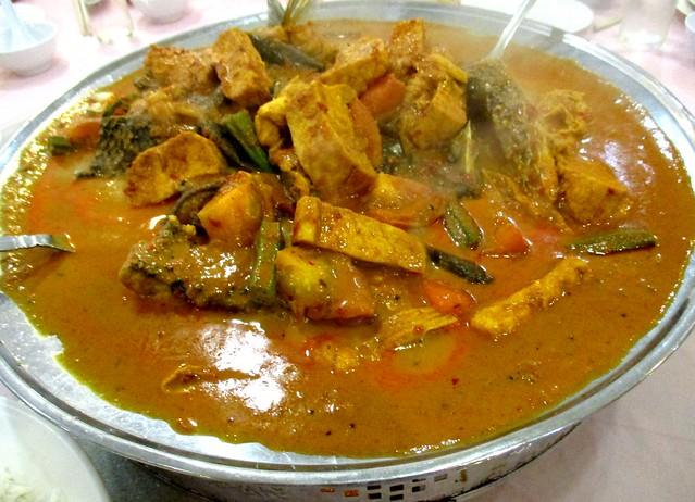 Sheraton fish head curry