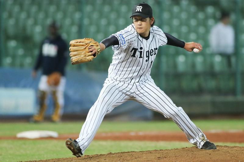 岩貞祐太本季初登板就奪勝。(中職資料照)