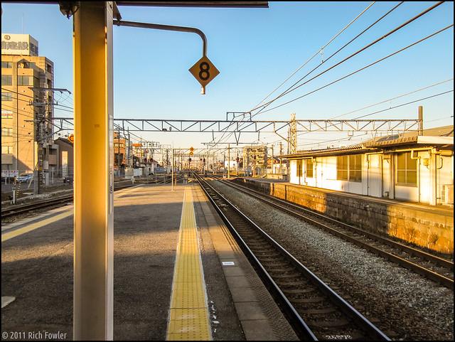 JR Okazaki on the way out to Nagoya