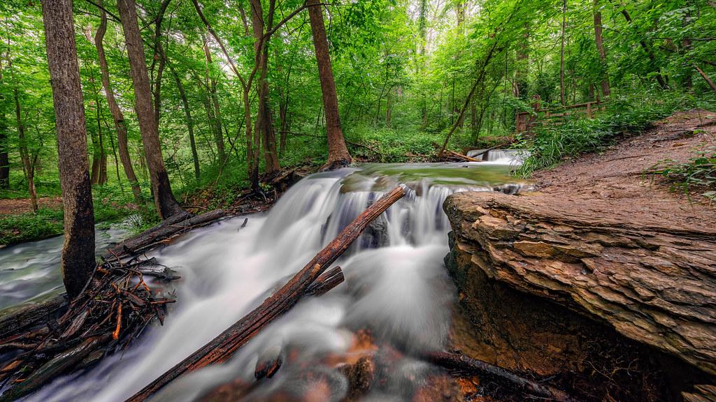 природа река водопад лес деревья nature river waterfall forest trees  № 484110 загрузить