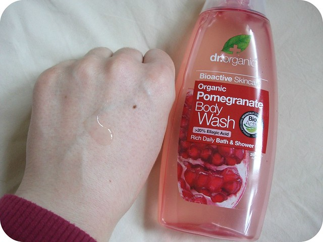 Dr Organic Pomegranate Body Wash